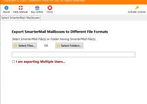 How Do I Backup My SmarterMail Emails screenshot
