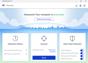 Malwarebytes Anti-Malware download screenshot