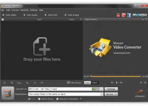 Movavi Video Converter download screenshot