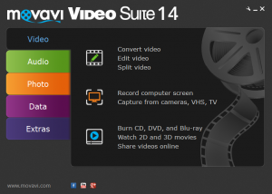 Movavi Video Suite download screenshot
