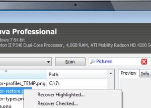 Recuva download screenshot