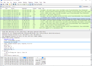 Full Wireshark (x32bit) screenshot